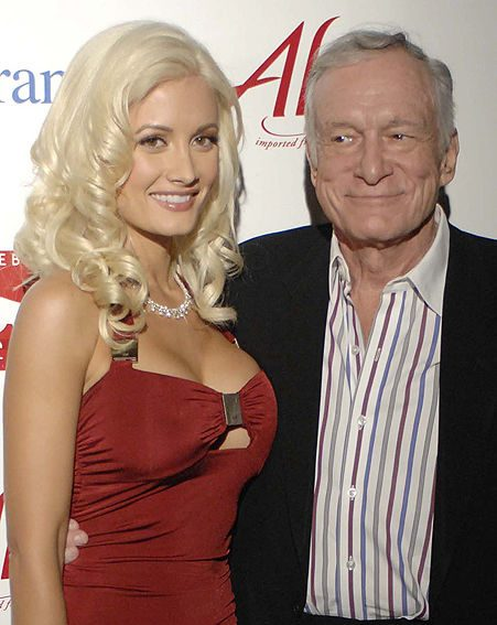Holly and Hef may go their separate ways / Pictures: WENN