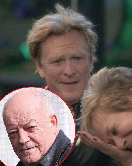 Celebrity Big Brother 2012: Denise Welch's husband Tim Healy has threatened Michael Madsen