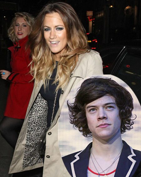 Caroline Flack has met Harry Styles' mum according to reports