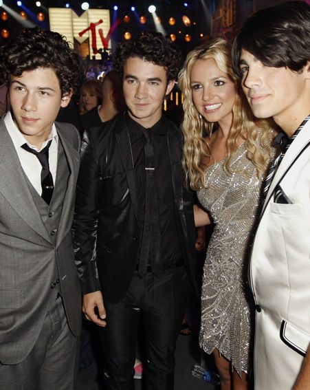 Russell upset the Jonas Brothers when he joked about their promise rings