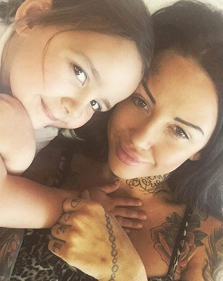 Sallie Axl is mother to four-year-old daughter Nirvana