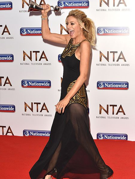 The Strictly NTA winner has people questioning whether it was a wardrobe malfunction