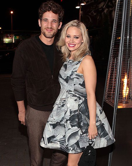 Kimberly Wyatt has confirmed she's expecting her first baby with husband Max Rogers