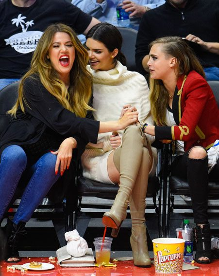 Khloe said that Kendall Jenner is dating Harry Styles