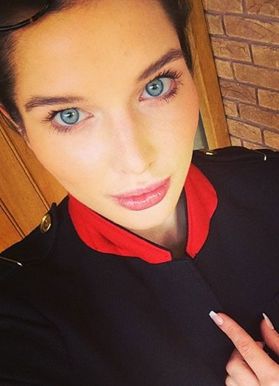 Helen Flanagan loves showing off her flawless make-up looks on Instagram
