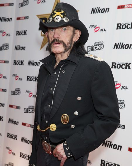 Lemmy's funeral was broadcast live on YouTube