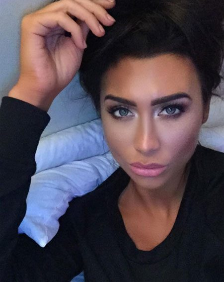 Lauren Goodger recently shared this photo after her semi-permanent eyebrow treatment and thanked Tracie Giles