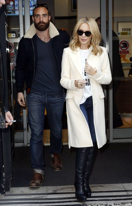 Kylie Minogue is rumoured to be engaged to Joshua Sasse