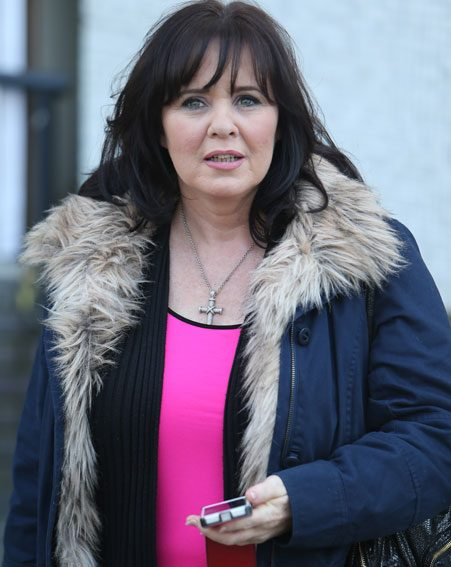 Coleen Nolan spoke bout making a naughty tape with then husband Shane Ritchie
