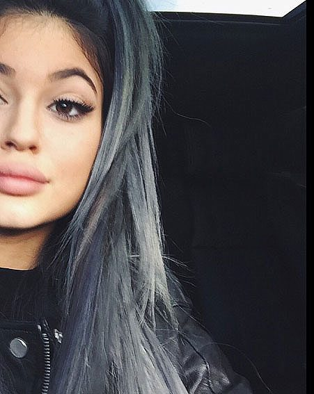 Kylie Jenner is no stranger to a controversial hair colour
