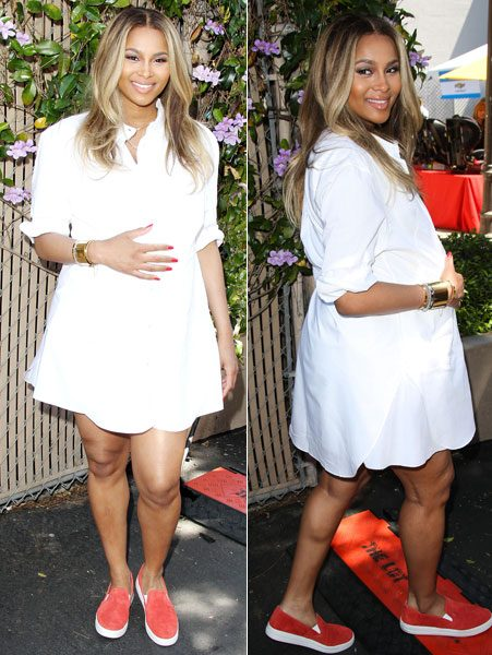 Ciara is expecting a baby boy with her rapper fiancé Future