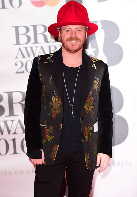 Keith Lemon stays in character on the red carpet
