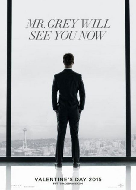 Jamie Dornan has also shared the teaser poster for the 50 Shades flick