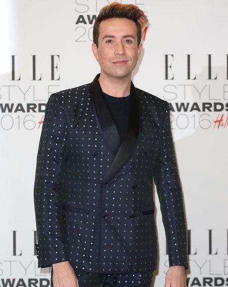 Nick Grimshaw at the Elle Style Awards