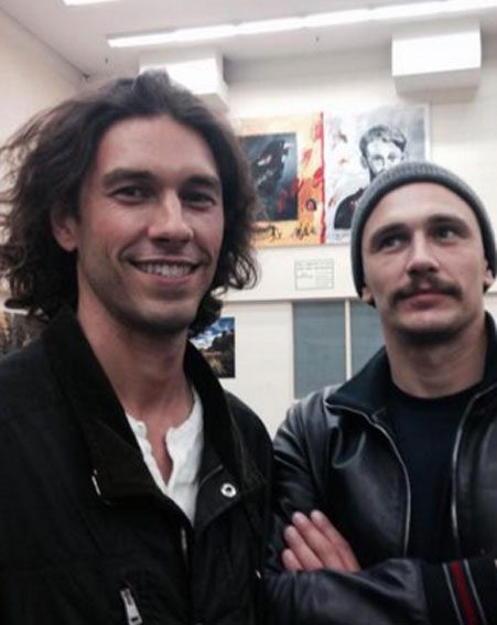 James Franco with his brother Tom