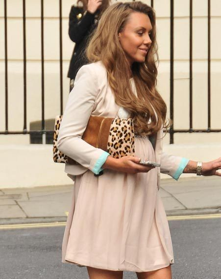 Michelle Heaton has already drawn up a plan to shed her baby pounds