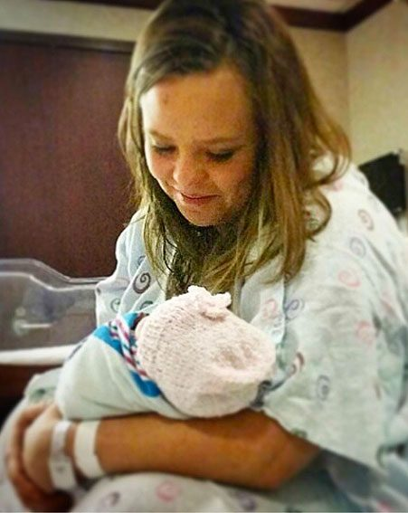 Catelynn Lowell has safely welcomed her second daughter into the world