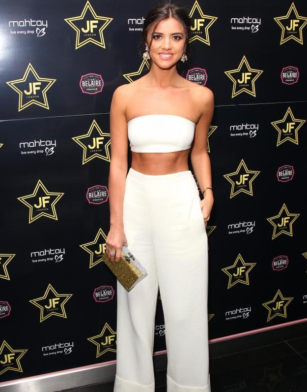 Lucy Mecklenburgh was apparently flirting with Hugo Taylor last night