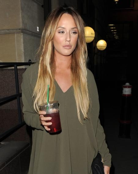 Charlotte Crosby showed off her figure in a steamy selfie