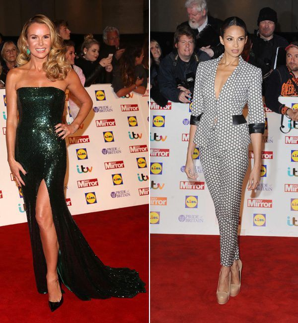 Britain's Got Talent judges Amanda Holden and Alesha Dixon rocked totally different, but equally stunning, looks
