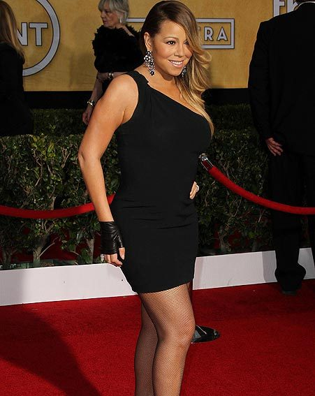 Mariah Carey's LBD wasn't red carpet appropriate