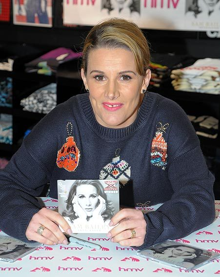 Sam Bailey has been labelled 'unbackable' by bookies for Christmas number one spot