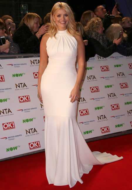 Holly Willoughby looked stunning a at the National Television Awards 2016