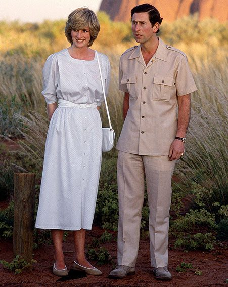 Princess Diana and Charles posed for the same photo in 1985