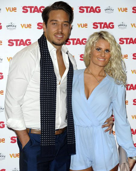 The TOWIE couple put on a united front at a premiere last night following the cheating claims