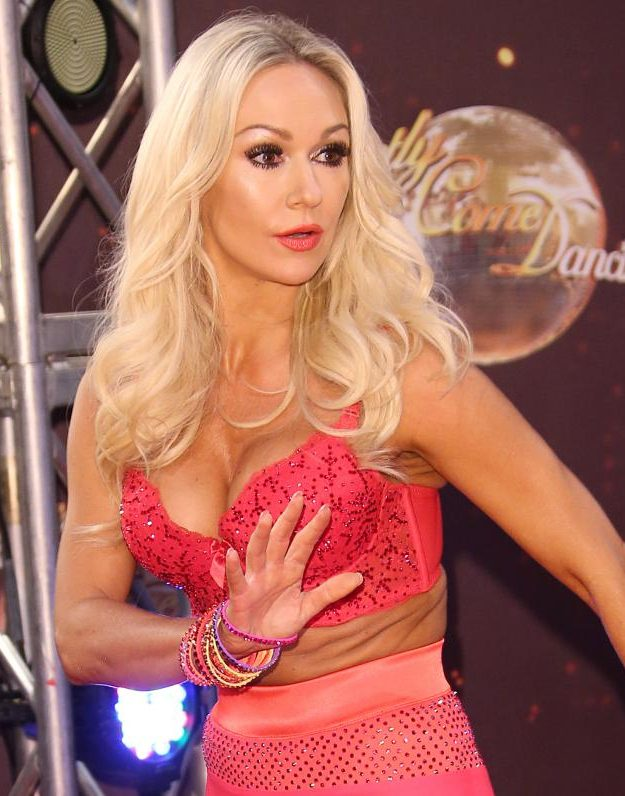 Kristina Rihanoff quit the show alongside Ola Jordan and Aliona Vilani