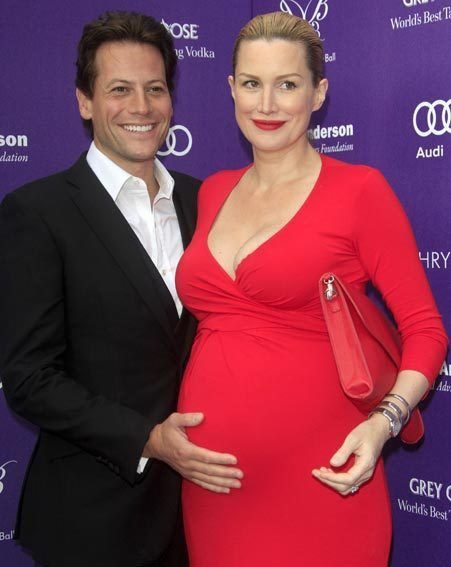 fantastic four actor ioan gruffudd and wife alice evans