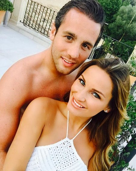 Sam Faiers announced she was pregnant with this snap