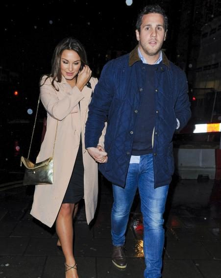 Sam Faiers shows off her maternity style with boyfriend Paul Knightley