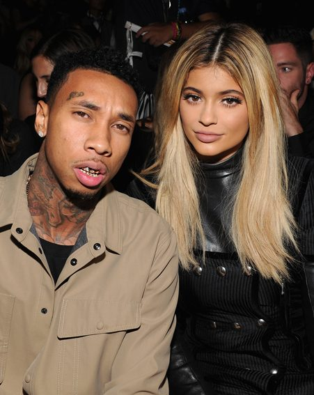 Tyga and Kylie have been loved up on social media recently