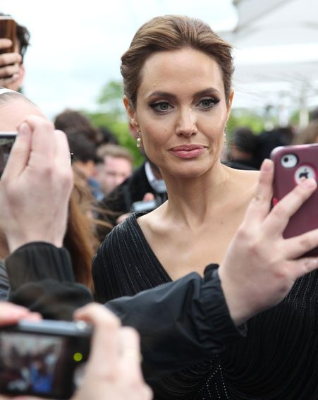 Even Angelina Jolie got in on the action