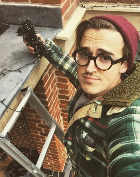 Tom Fletcher has shared the first picture of his newborn son