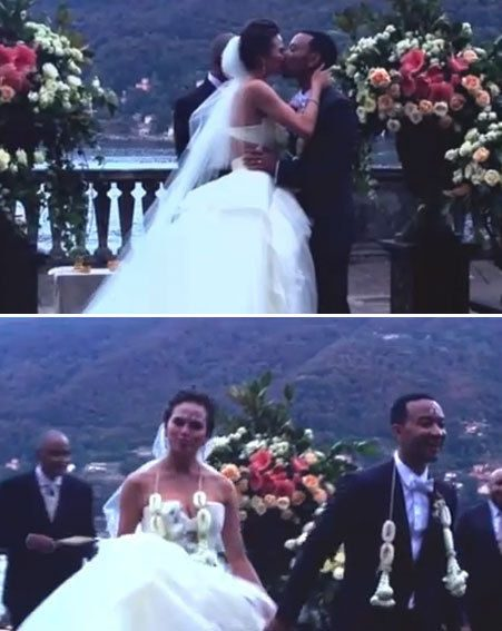 John Legend Shares Intimate Wedding Clip In All Of Me Video