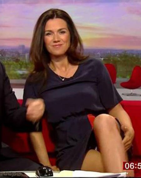Susanna Reid is the original knicker flasher