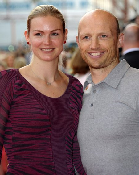 Matt Dawson and wife Carolin thanked the public for their support