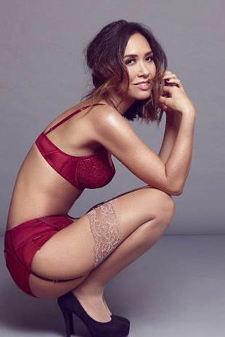 Myleene Klass Launches Christmas Lingerie Collection 39 It
