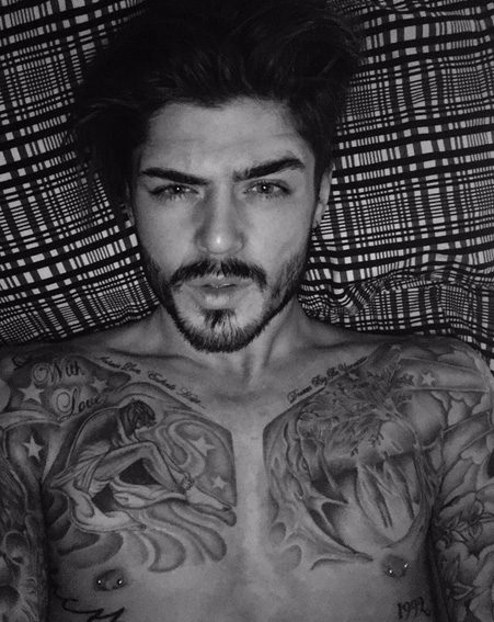 Sam Reece shared a smouldering selfie moments after Stephanie Davis declared her 'love' for Jeremy McConell