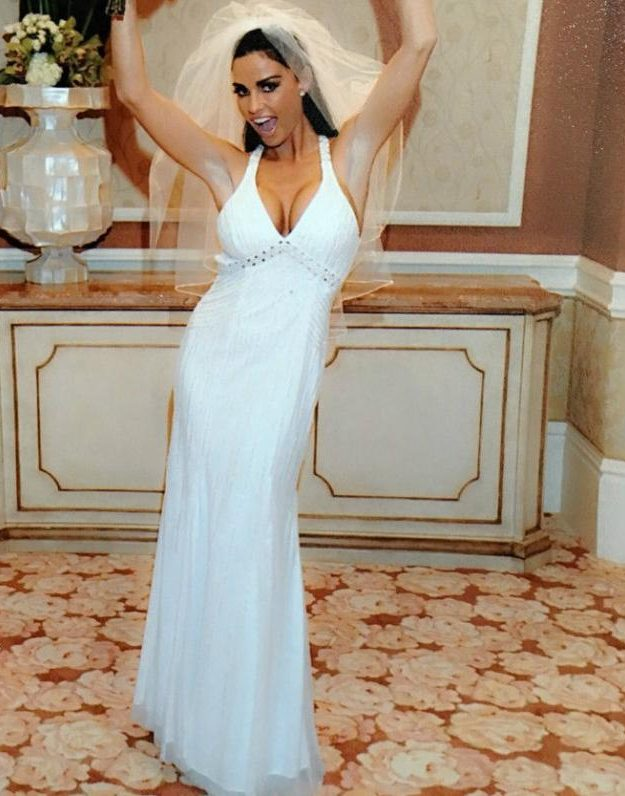 Katie Price is selling her wedding dress on eBay