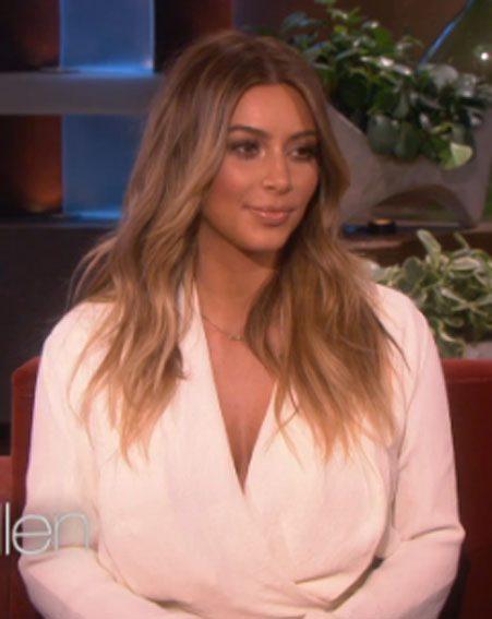 Kim Kardashian appears on The Ellen DeGeneres Show tonight