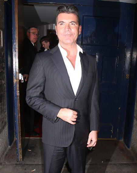 Simon Cowell said fatherhood has made him more relaxed