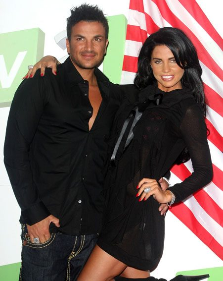 A tweet from Kim Kardashian reminded Katie of her time with Peter Andre