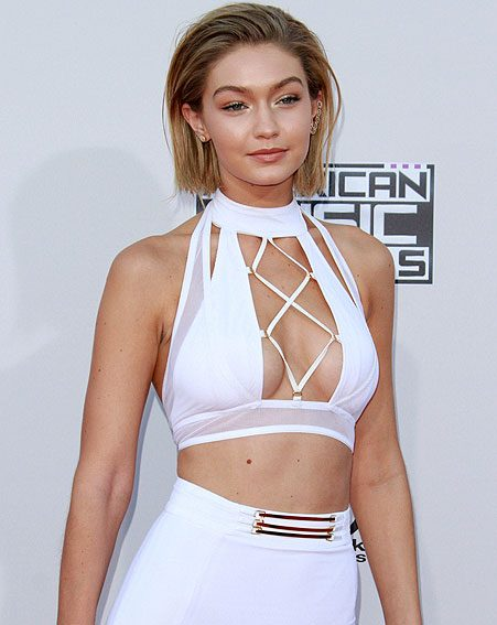 Gigi Hadid had a go at the popular hairstyle at the AMAs 2015