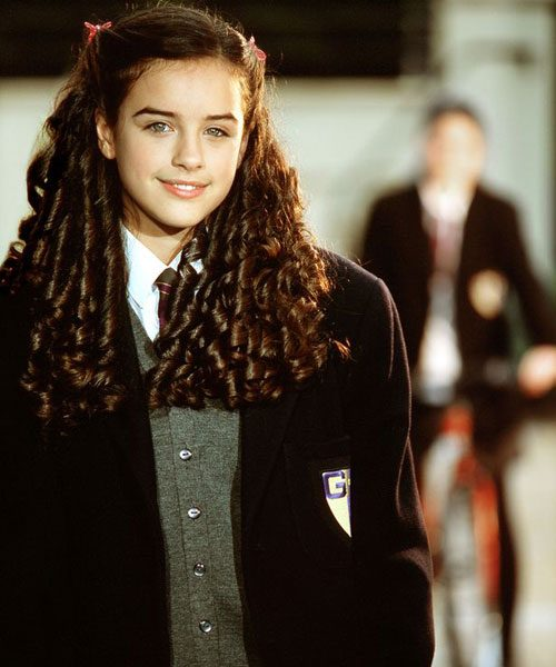 Georgia May Foote appeared as Alison Simmons in Grange Hill between 2005 and 2008