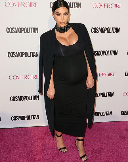 Kim Kardashian has completely transformed her look since giving birth to Saint