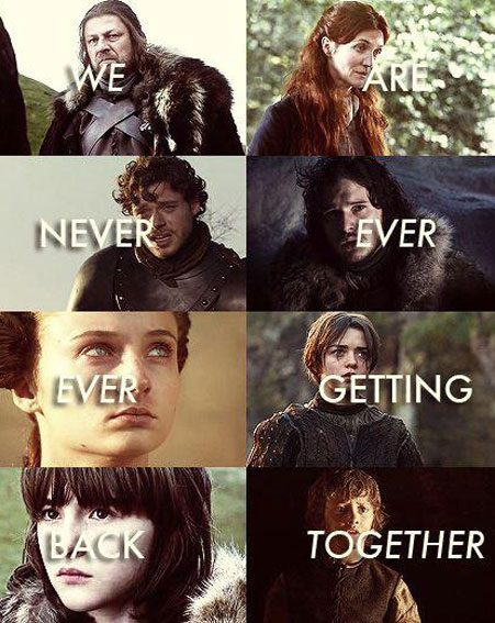 Game of Thrones: It's all over for the Starks. Everyone is doomed