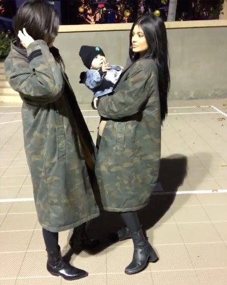 Kendall and Kylie usually have very different styles